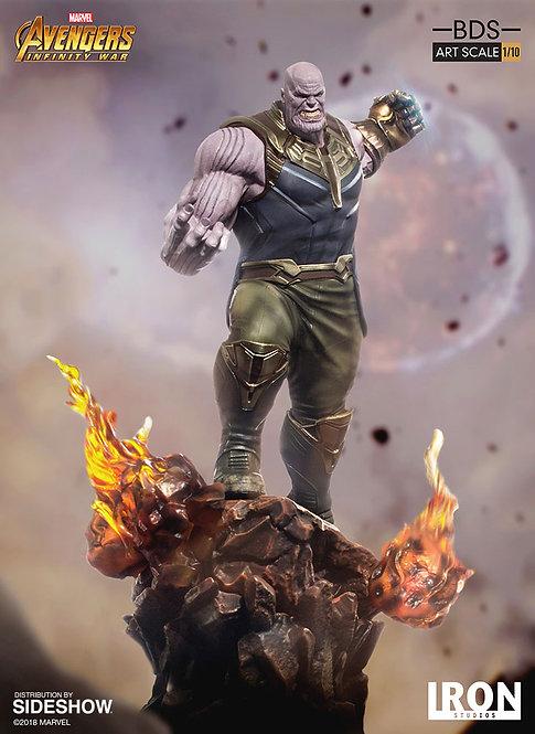 Iron Studios 1/10 art scale Infinity War Thanos statue