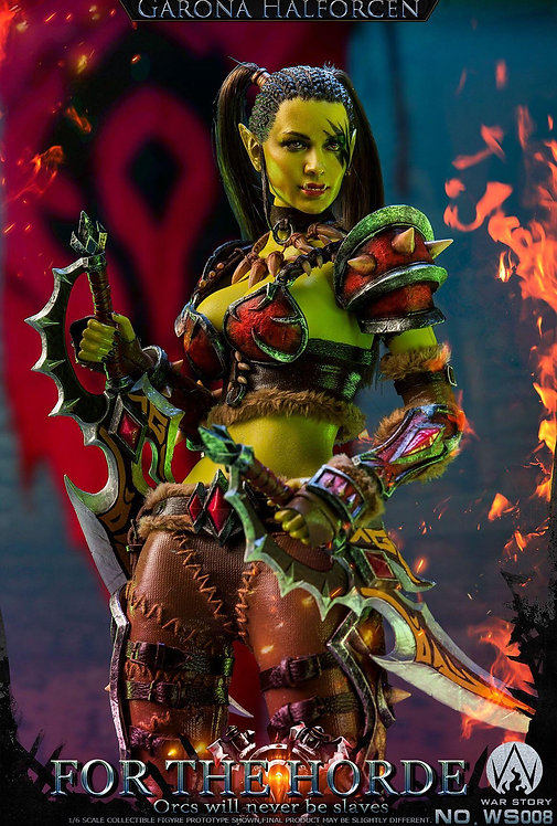 WAR STORY WS008 Soldier Human Orc Assassin Garona For the Horde 1/6 Figure