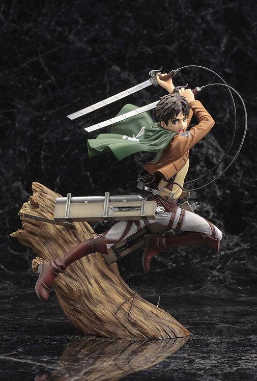 Kotobukiya ARTFX J Eren Yeager Renewal Package Ver. 1/8 Statue