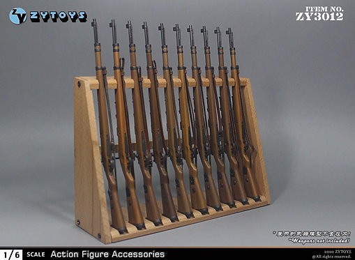 ZYTOYS ZY3012 1/6 Wooden Gun Holder