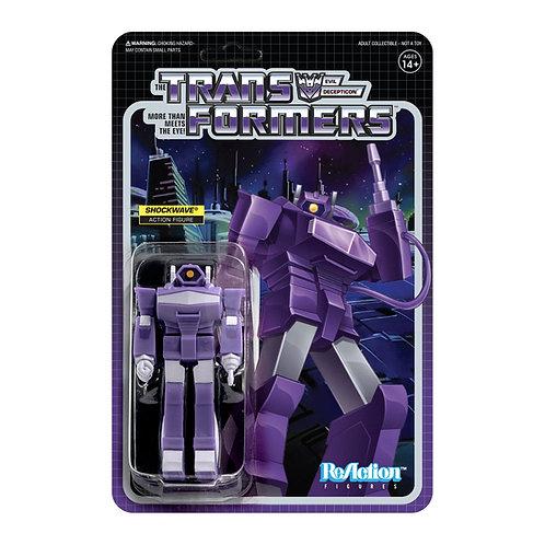 Super7 Transformers Shockwave ReAction Figure