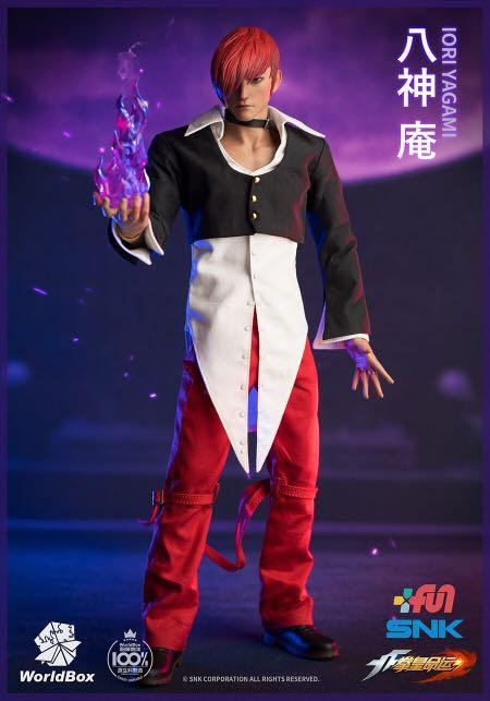 WorldBox KF100 The King Of Fighters Iori Yagami 1/6 Figure (Deluxe)