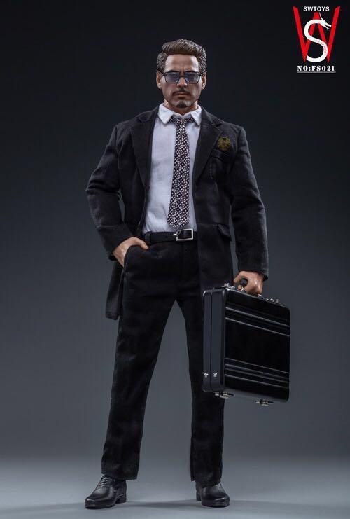 SWTOYS FS021 - 1/6 Scale Man In Black Figure