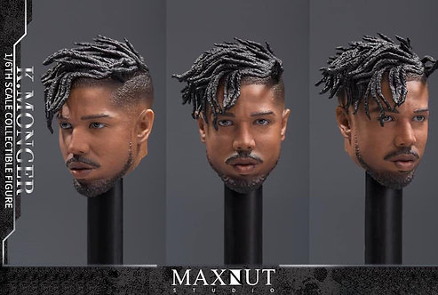 Maxnut Studio K.MONGER 1/6 Black Panther Anti-Gold Leopard Headsculpt (Normal)