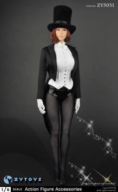ZYToys ZY5031 Swallowtail Girl 1/6 Costume Set