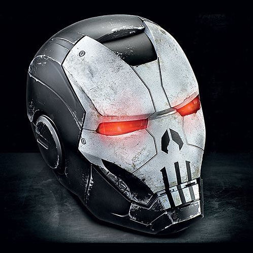 Hasbro Marvel Legends Gameverse Punisher War Machine Helmet Prop Replica