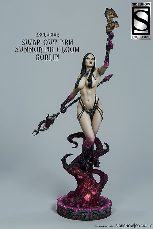 Sideshow Dark Sorceress: Guardian of the Void Statue