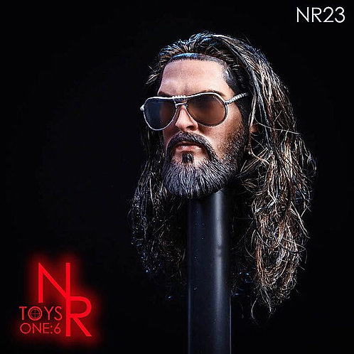 NRTOYS NR23 1/6 Muscular Male Head Sculpt