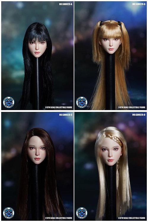 SUPER DUCK SDH028 1/6 Female Headsculpt