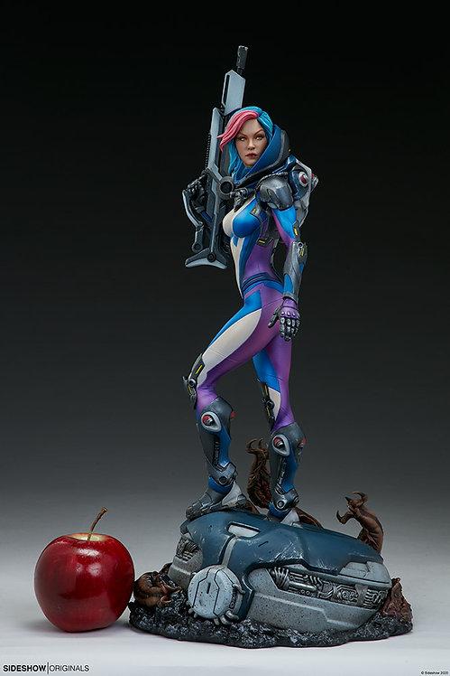Sideshow Bounty Hunter: Galactic Gun For Hire Statue