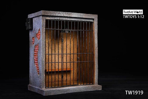 TWTOYS TW1919 - 1/12 Prison Scene Lightable Metal Railing