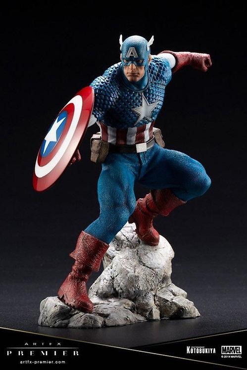 Kotobukiya Marvel Captain America ARTFX Premier Statue