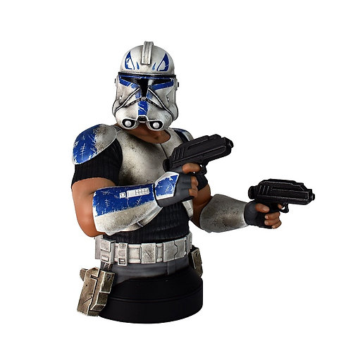 Diamond Select Star Wars Clone Wars Deluxe Captain Rex 1:6 Scale Bust