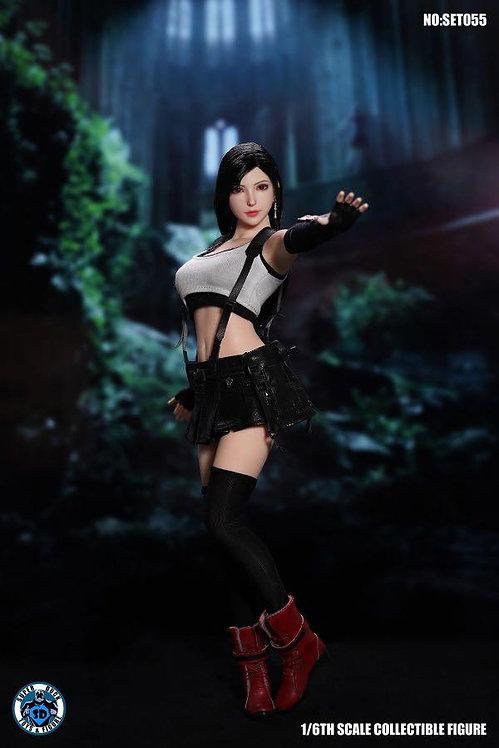 SUPER DUCK SET055 Fantasy Fighting Goddess Tifa 1/6 Costume Set
