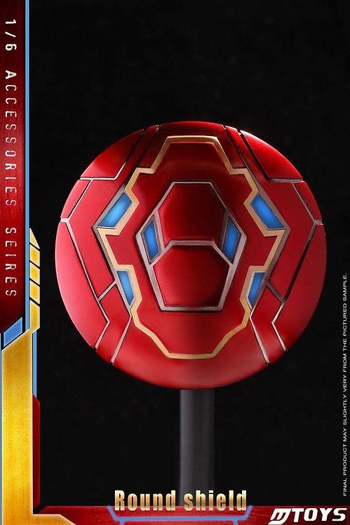 MTOYS MS001 - 1/6 MK50 Iron Man Alloy Round Shield