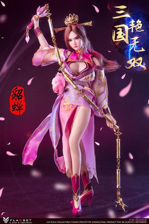 FLAGSET FS-G002 Three Kingdoms Warriors Diao Chan 1/6 Figure