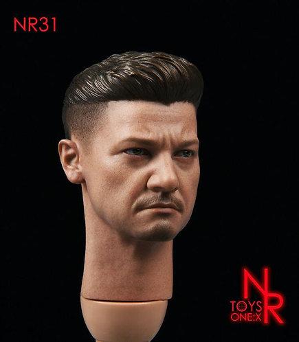 NRTOYS NR31 Ronin Hawkeye 1/6 Male Headsculpt