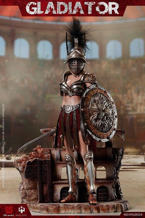 HHmodel & HaoYuToys Imperial Legion-Imperial Female Warrior 1/6 Figure