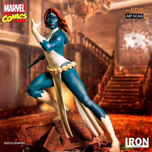 Iron Studios 1/10 art scale Marvel Comics Mystique statue