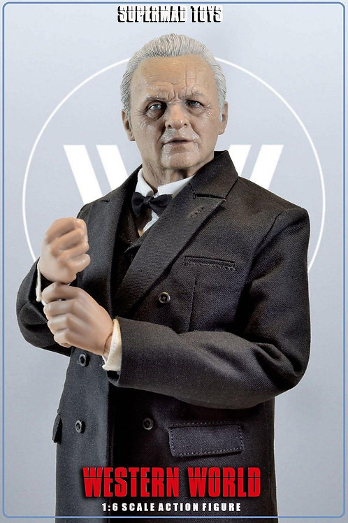 SUPERMAD TOYS The CEO Robert of Western World 1/6 Figure