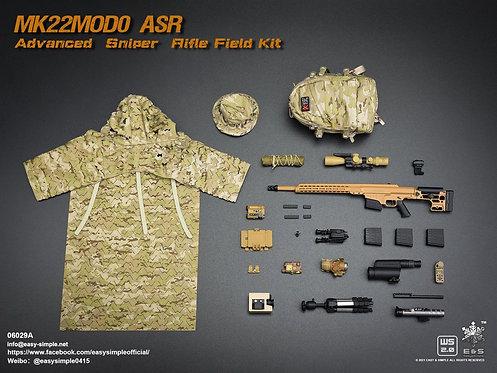 Easy&Simple 06029 MK22MOD0 ASR Advanced Sniper Rifle Field Kit