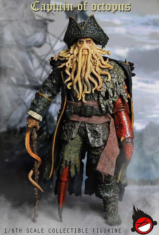 XD Toys XD001 Captain of Octopus 1/6 Figure