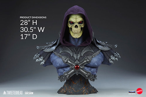 Sideshow Skeletor Legends Life-Size Bust by Tweeterhead