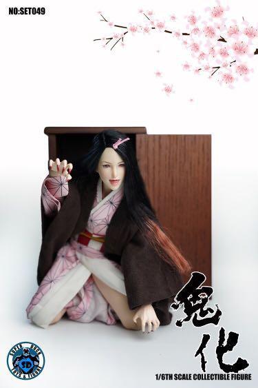 Super Duck SET049 - 1/6 Cosplay Oni Girl Nezuko