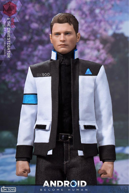 LIMTOYS LIM010 The Investigator Android Become Human NINES 1/6 Figure