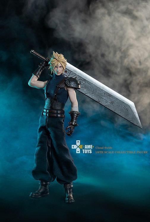 GAMETOYS GT-002A 1/6 Final Fantasy Cloud Strife Standard Edition
