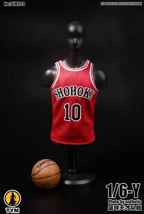 TYM090 - 1/6 Basketball Genius Uniform