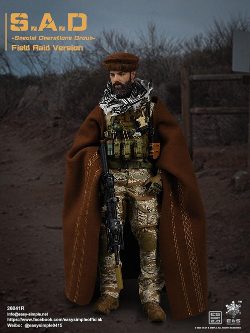 Easy&Simple 26041R S.A.D Special Operation Group Field Raid Version 1/6 Figure