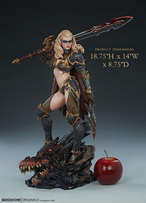 Sideshow Dragon Slayer: Warrior Forged in Flame Statue