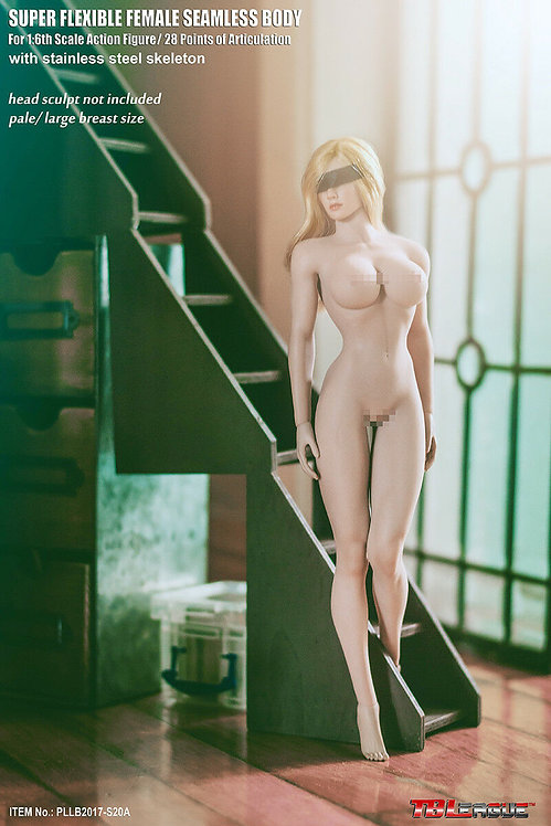 S20A TBLeague Phicen 1/6 scale female seamless body