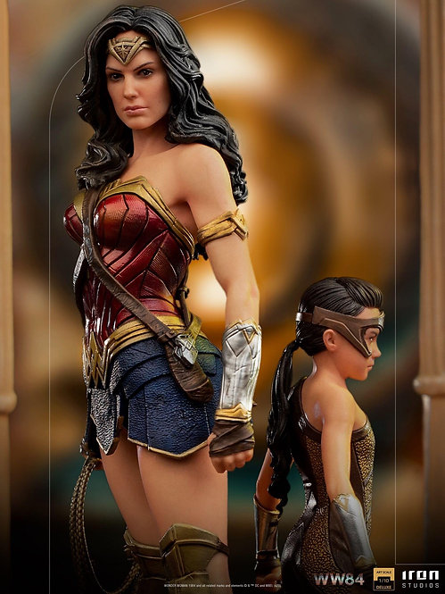 Iron Studios Wonder Woman & Young Diana Deluxe Art Scale 1/10 - WW84