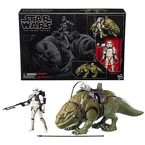 Hasbro Star Wars The Black Series 6-Inch Dewback and Sandtrooper Action Figure