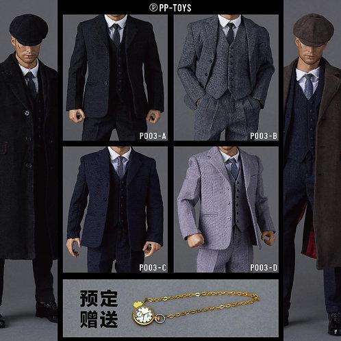 PP-TOYS P003 1/6 WWII British Retro Suit