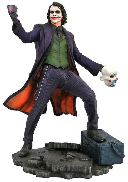 Diamond Select DC Gallery Batman Dark Knight Movie Joker Statue