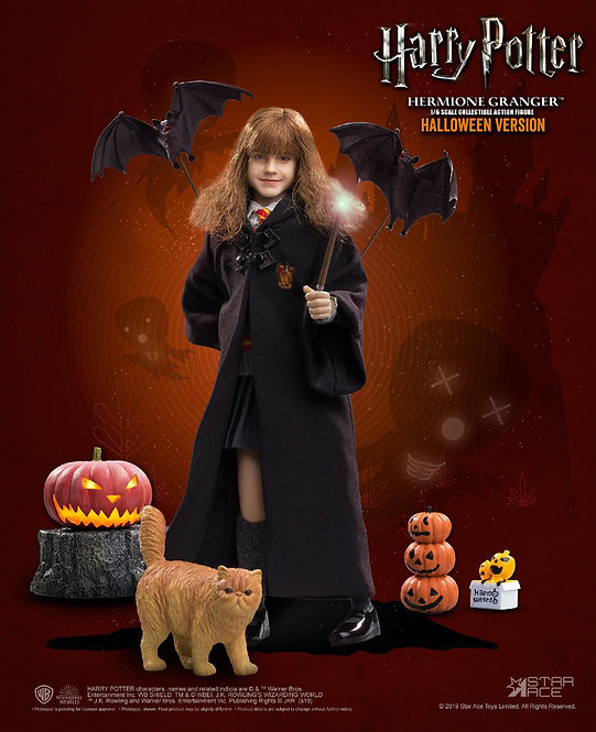 Star Ace Toys HW0003 - Hermione Granger (Child) with Halloween accessories