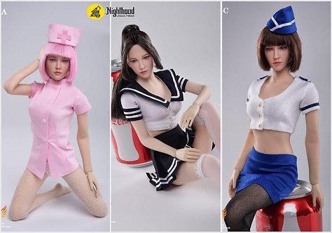 Createmodels D-04 Sexy Maid 1/6 Suit