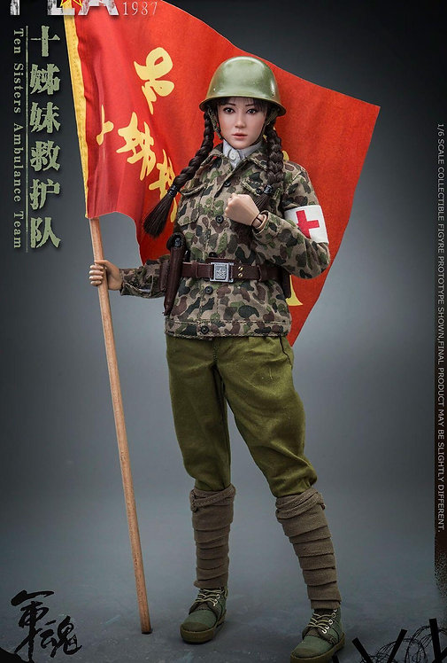 FLAGSET FS-73032 Chinese Liberation Army Ten Sisters Ambulance Team