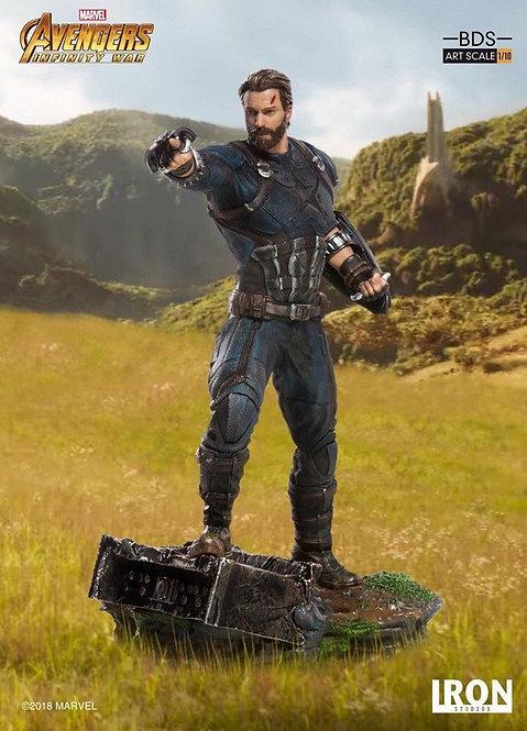 Iron Studios 1/10 art scale infinity war Captain America statue