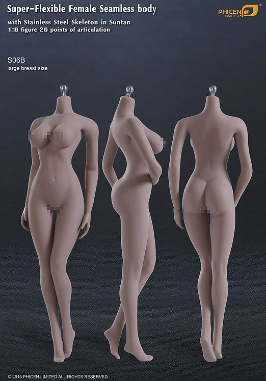S06B TBLeague Phicen female seamless body