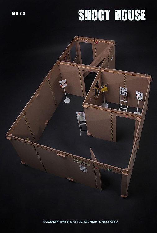 Mini Times MT-M025 SWAT Police Shoot House 1/6 Diorama