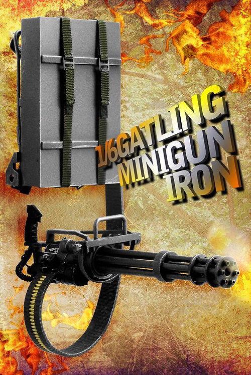 ZYToys ZY8019 - 1/6 Scale M134 Mini Gatling Gun (black iron color)
