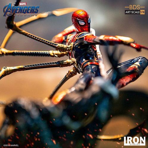 Iron Studios Endgame Iron Spider VS Outrider 1/10 Statue
