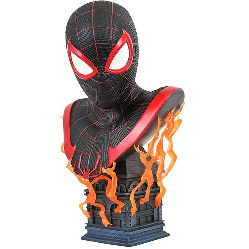 Diamond Select Legends in 3D Marvel Gamerverse Miles Morales 1:2 Scale Bust
