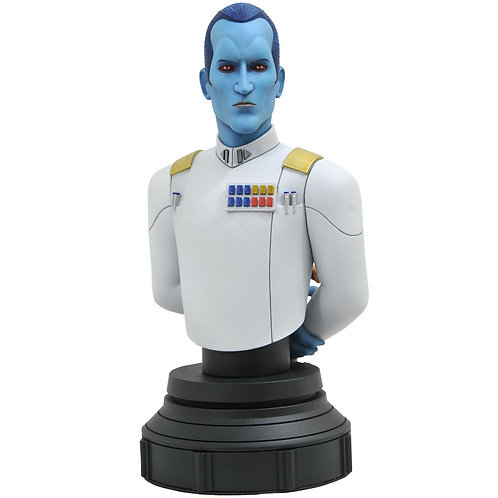 Diamond Select Star Wars Rebels Grand Admiral Thrawn 1:7 Scale Bust