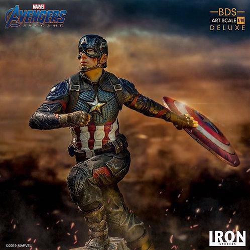 Iron Studios 1/10 Deluxe Art Scale Endgame Captain America Statue