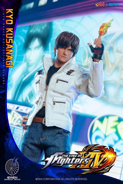 Emen Genesis KOF-KY01 The King of Fighters 14 Kyo Kusanagi 1/6 Figure